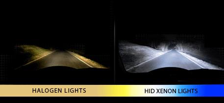 "7"" round HID headlights"