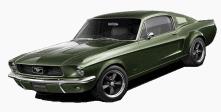 68 Mustang