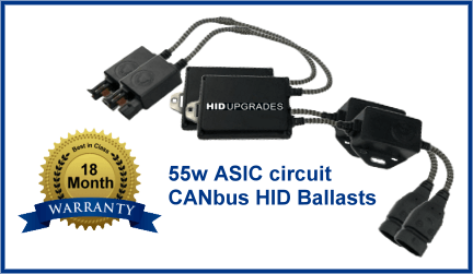 High Tech 55w asic canbus ballasts