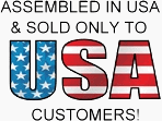 Assembled and Sold in the USA!